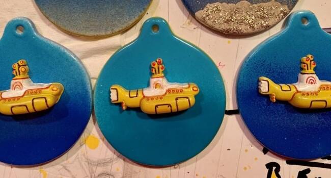 Yellow Submarine Ornaments