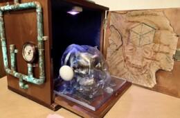 Atom-Punk Skull Box